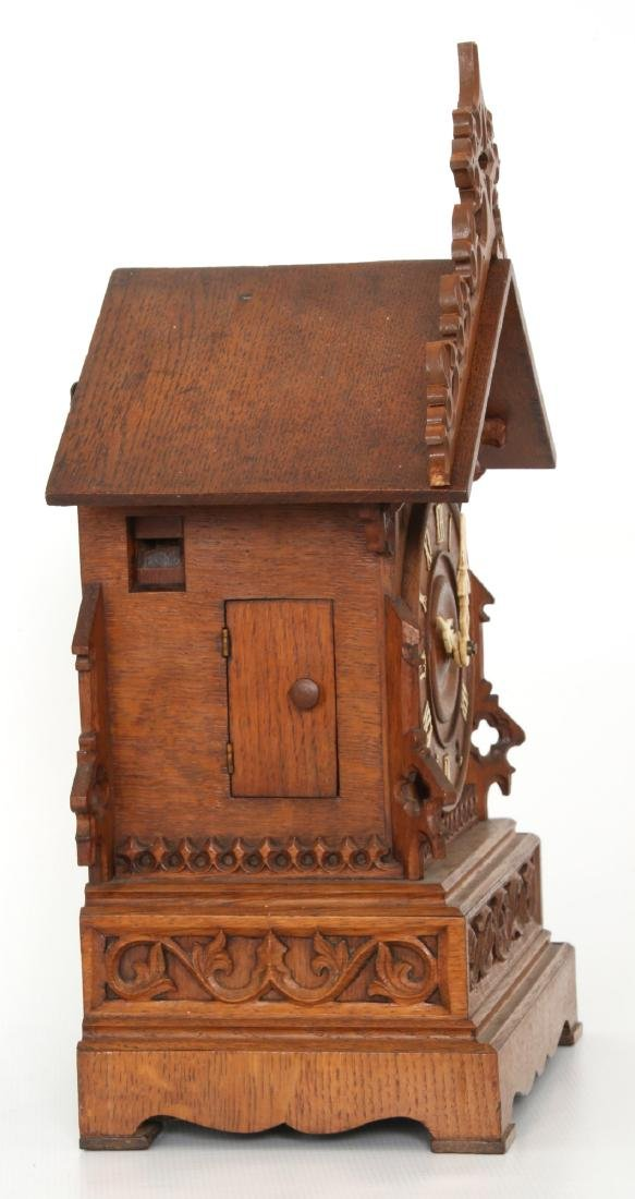 Double Fusee Table Model Cuckoo Clock - 7
