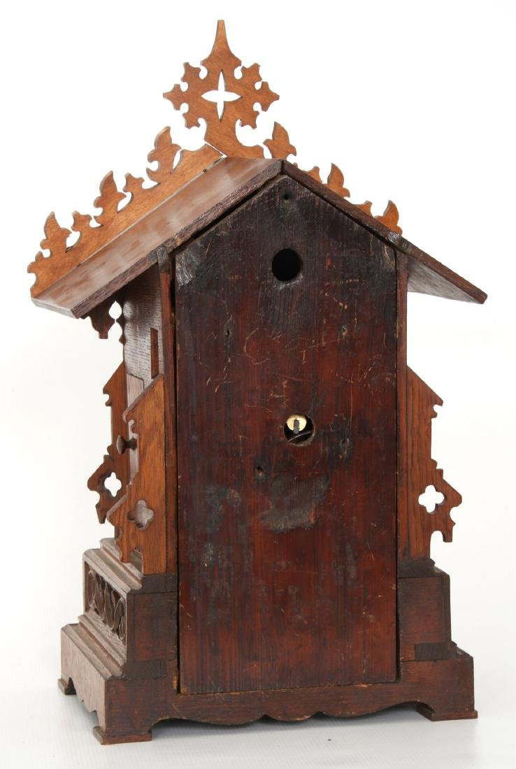 Double Fusee Table Model Cuckoo Clock - 8