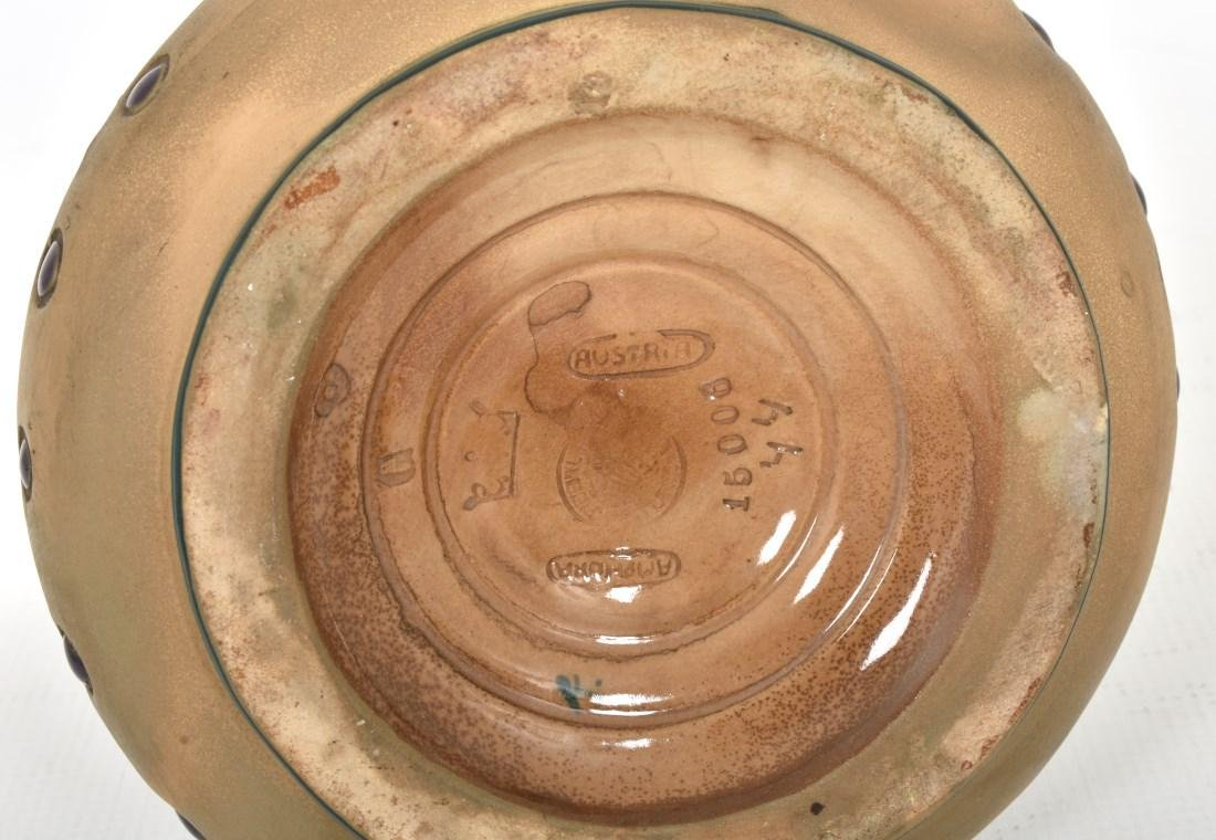 Amphora Handled Vase With Birds - 6