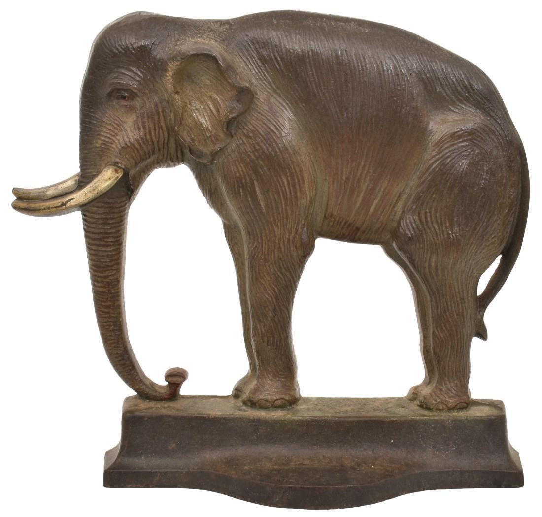 Bradley & Hubbard Elephant Doorstop