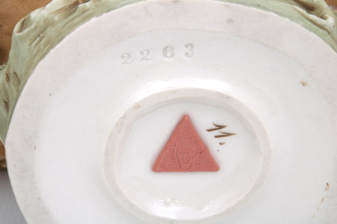 Royal Dux Porcelain Figural Centerpiece - 10