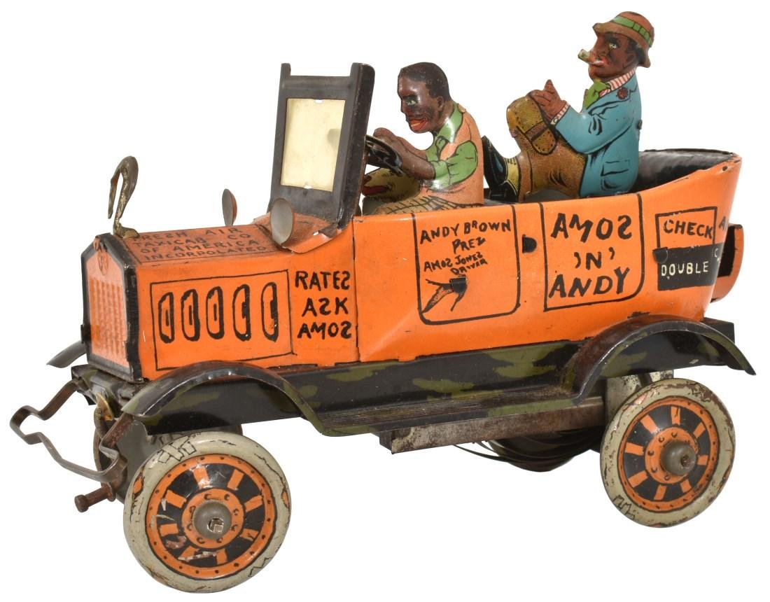 Marx Toys Amos And Andy Fresh Air Taxi