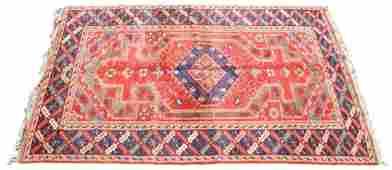 Lg. Antique Kazak Area Rug