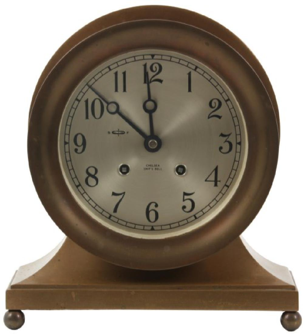 Chelsea Ship's Bell Mantle Clock