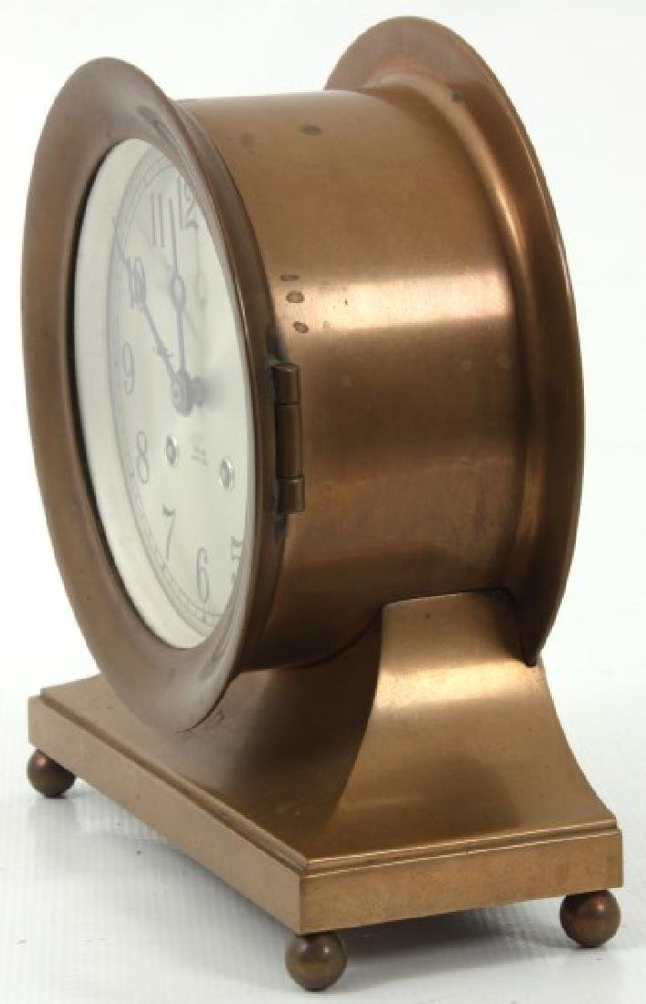 Chelsea Ship's Bell Mantle Clock - 4