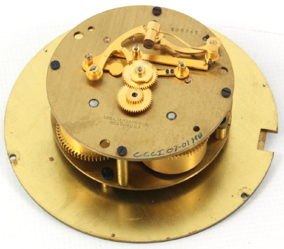 Chelsea Ship's Bell Mantle Clock - 7