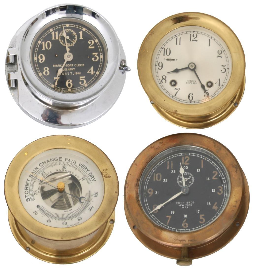 4 Marine Timepieces