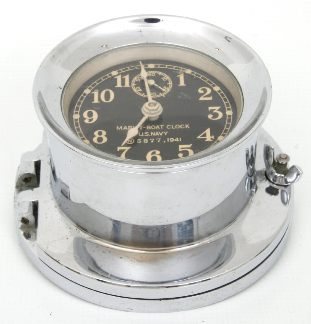 4 Marine Timepieces - 8