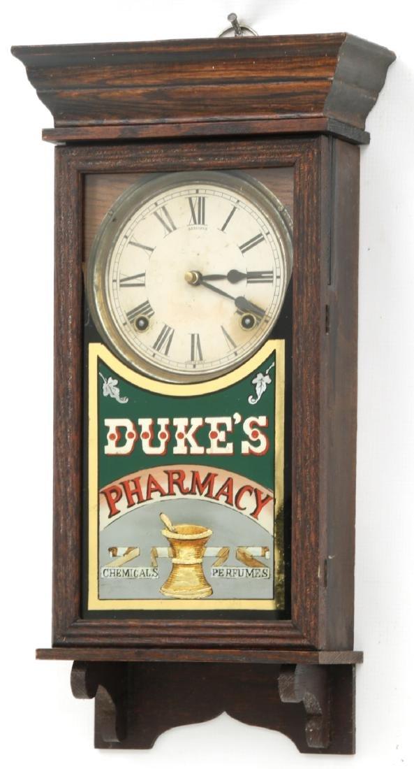 Duke's Pharmacy Session Advertising Clock - 2