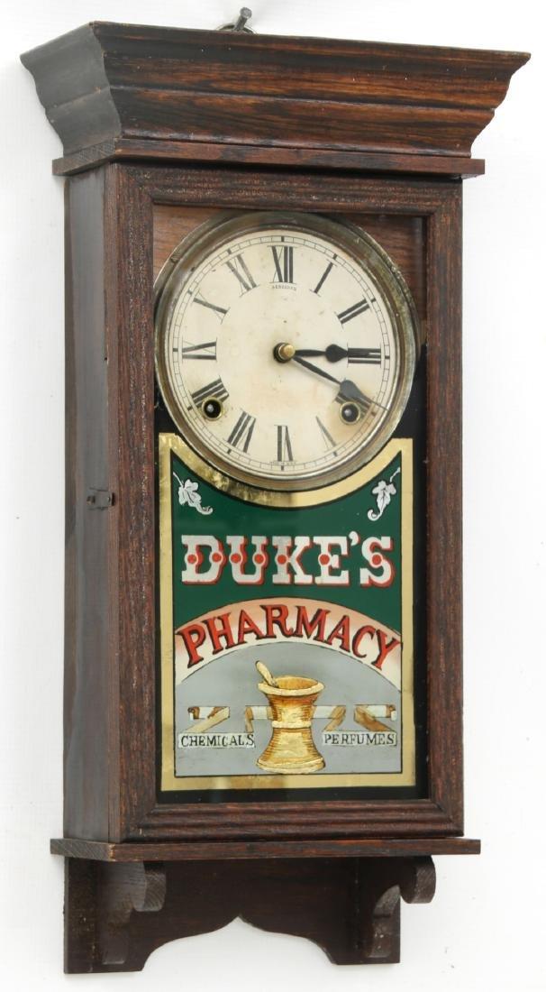 Duke's Pharmacy Session Advertising Clock - 3