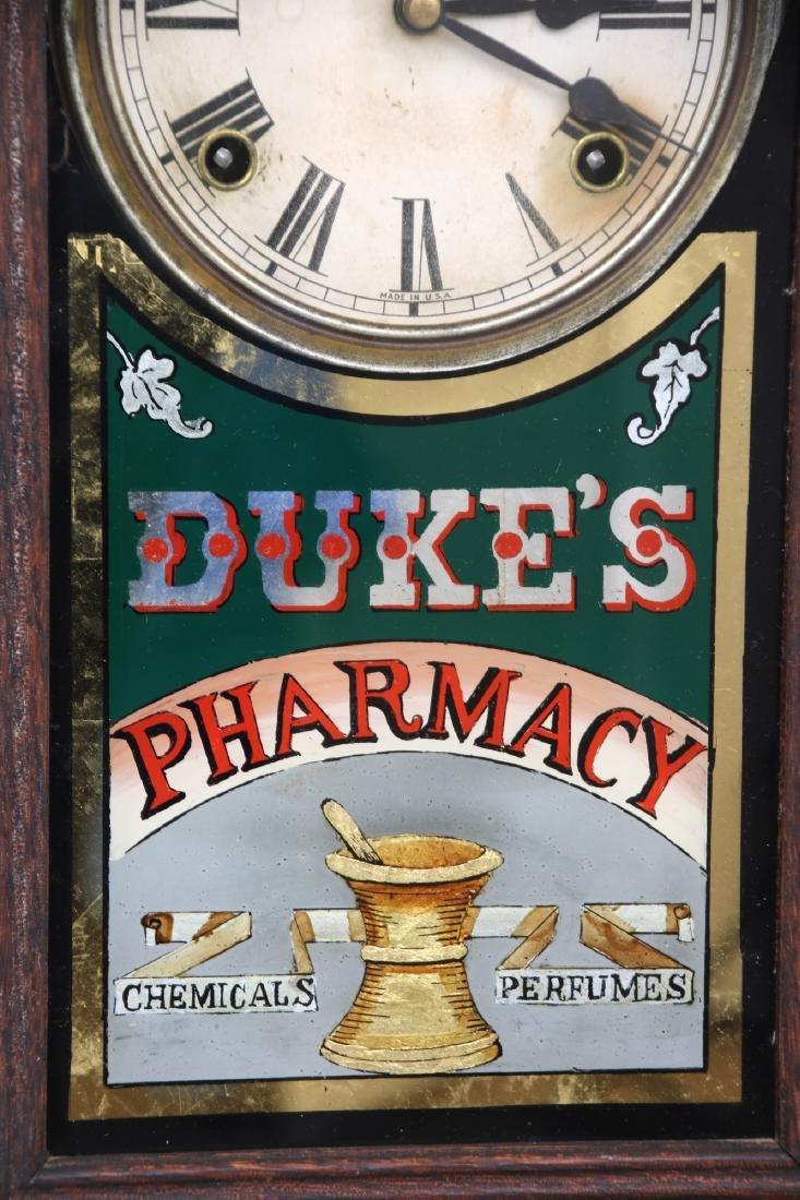 Duke's Pharmacy Session Advertising Clock - 5