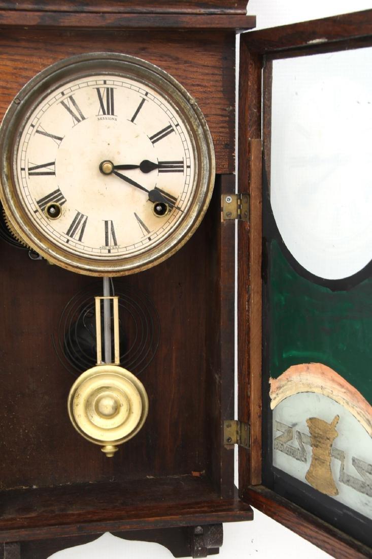 Duke's Pharmacy Session Advertising Clock - 7
