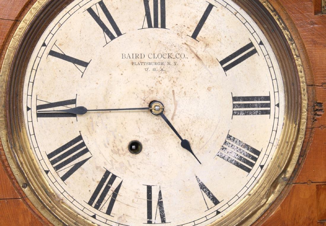 Rare Baird Miniature Figure Eight Wall Clock - 10