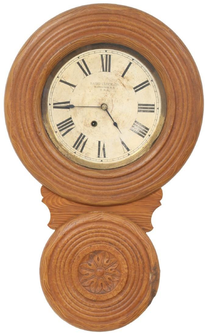 Rare Baird Miniature Figure Eight Wall Clock