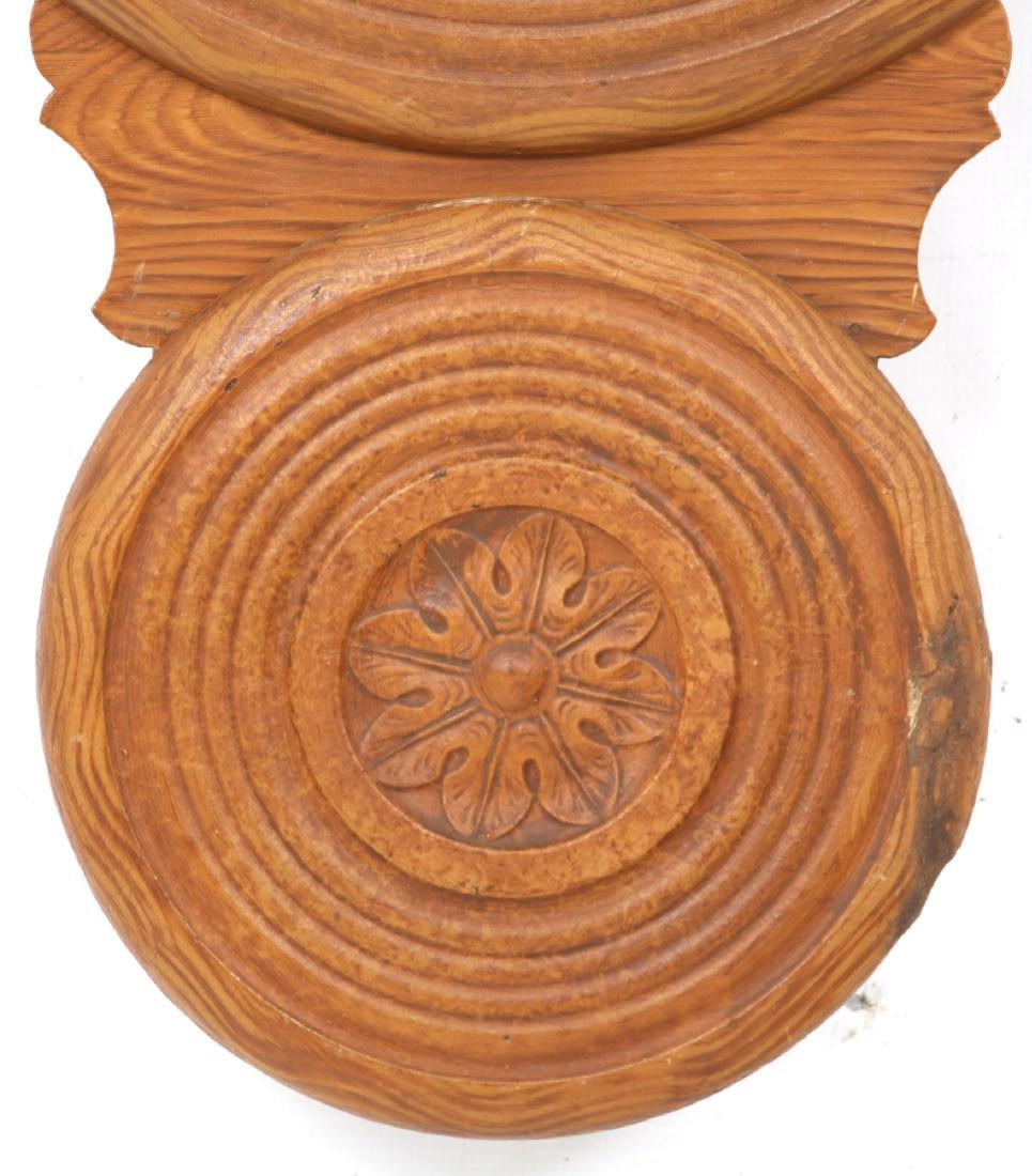 Rare Baird Miniature Figure Eight Wall Clock - 2