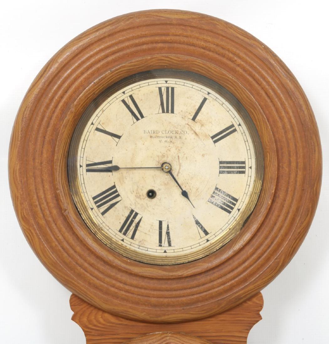 Rare Baird Miniature Figure Eight Wall Clock - 3