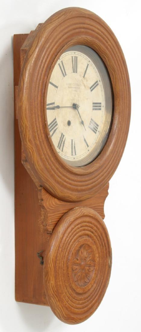 Rare Baird Miniature Figure Eight Wall Clock - 4