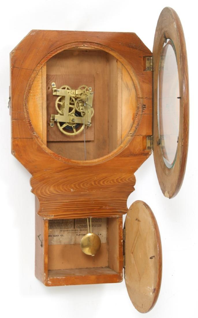 Rare Baird Miniature Figure Eight Wall Clock - 6