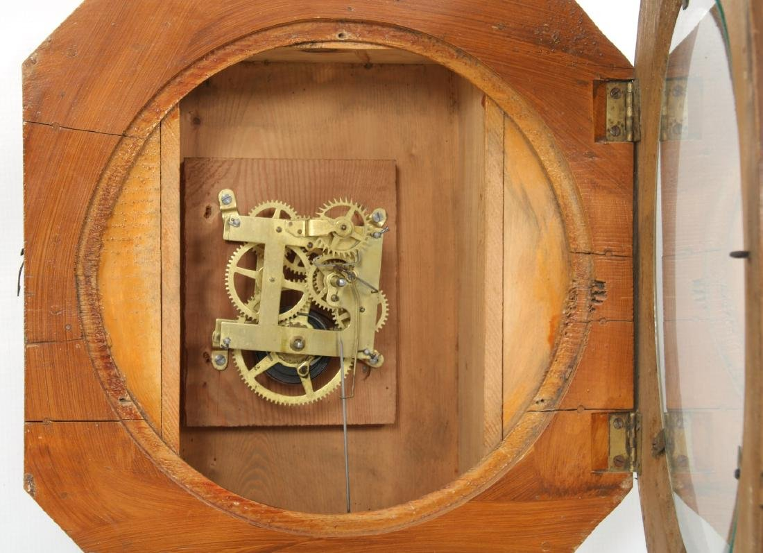 Rare Baird Miniature Figure Eight Wall Clock - 8