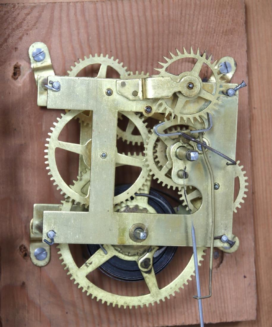 Rare Baird Miniature Figure Eight Wall Clock - 9
