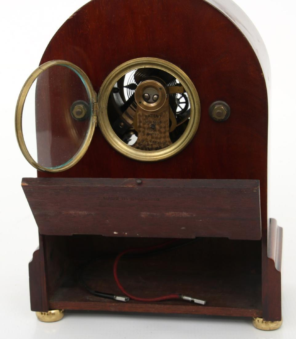 Attr. Eureka Electric Mahogany Mantle Clock - 10