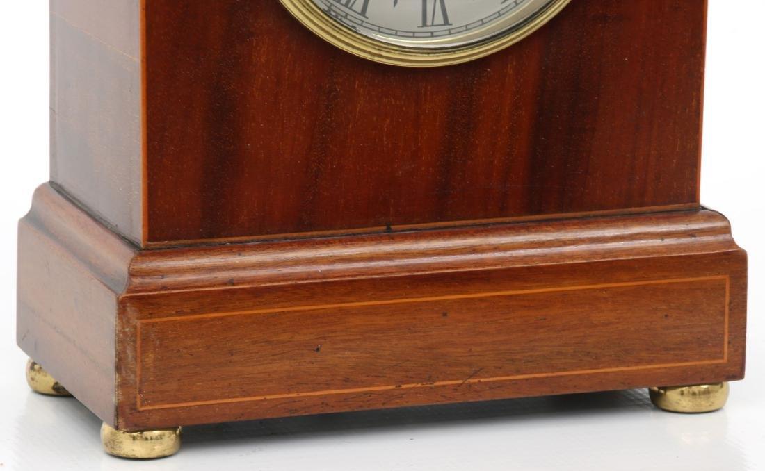 Attr. Eureka Electric Mahogany Mantle Clock - 4