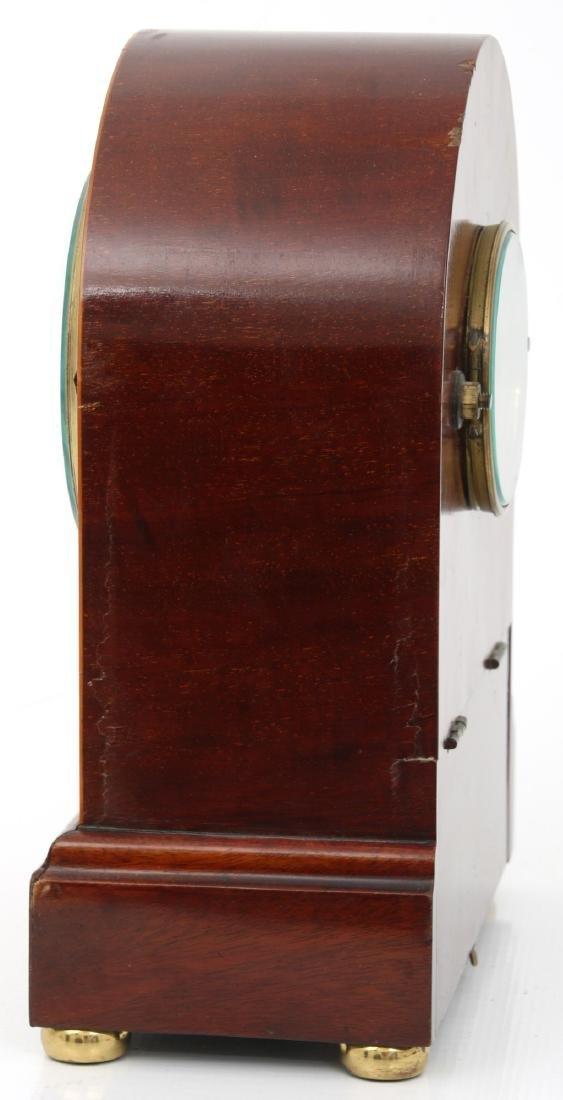 Attr. Eureka Electric Mahogany Mantle Clock - 6