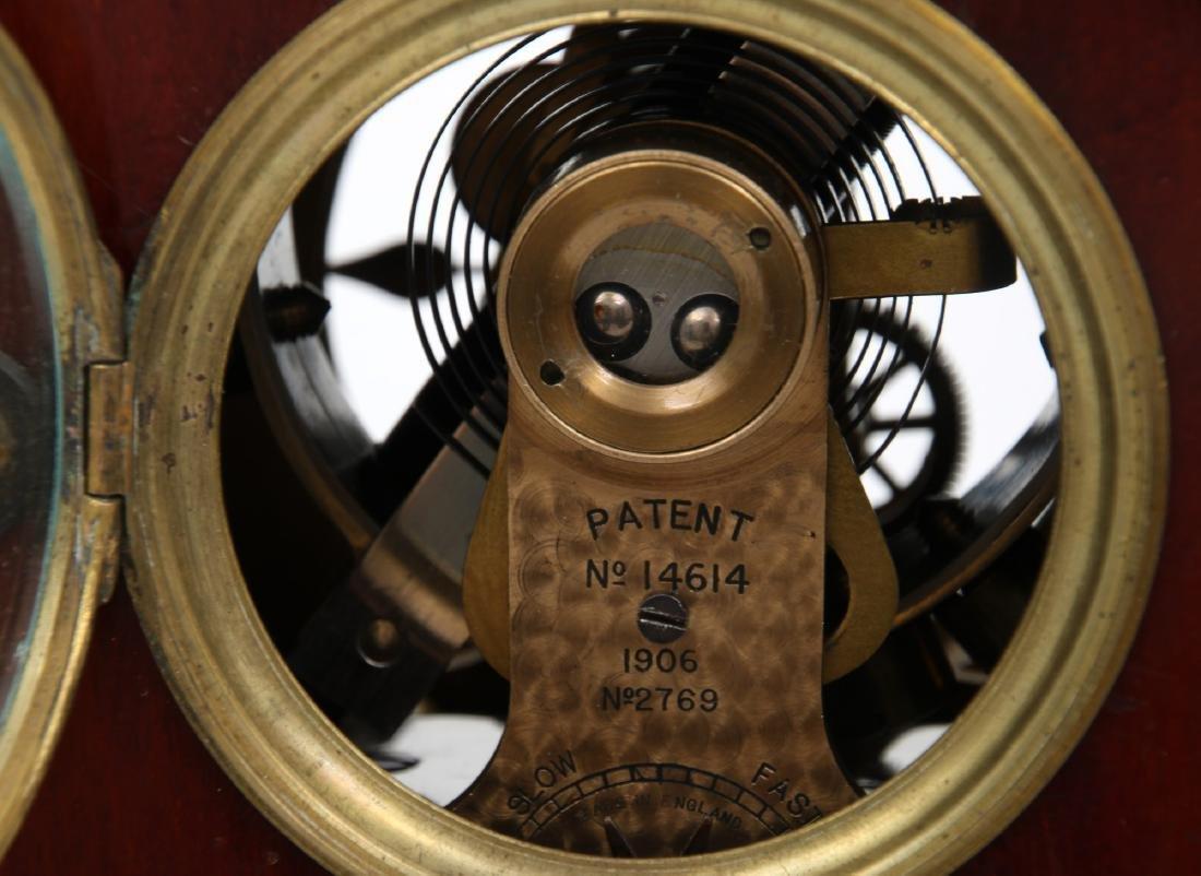Attr. Eureka Electric Mahogany Mantle Clock - 9