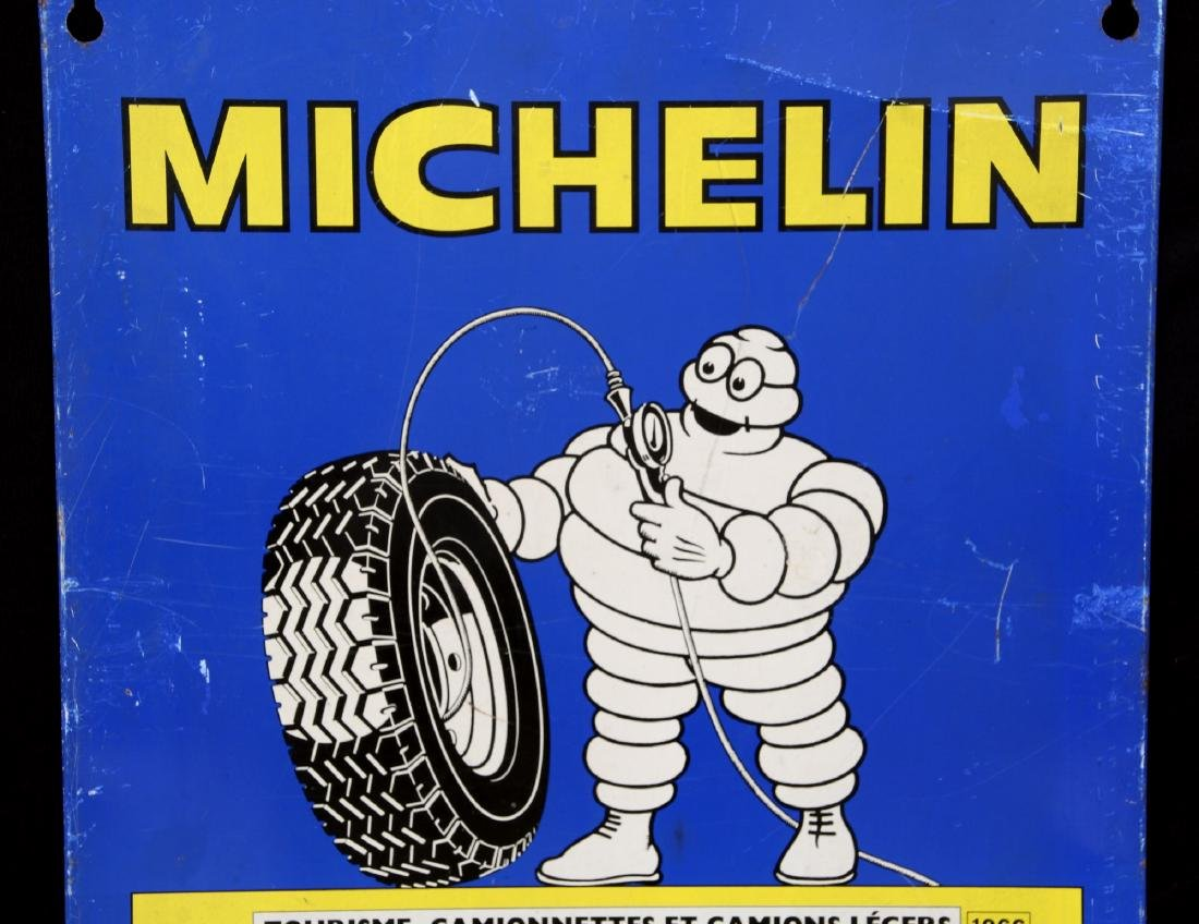 French Michelin Tire Pressure Chart - 2