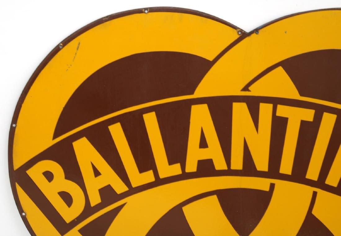 Ballantine's Porcelain Advertising Sign - 2