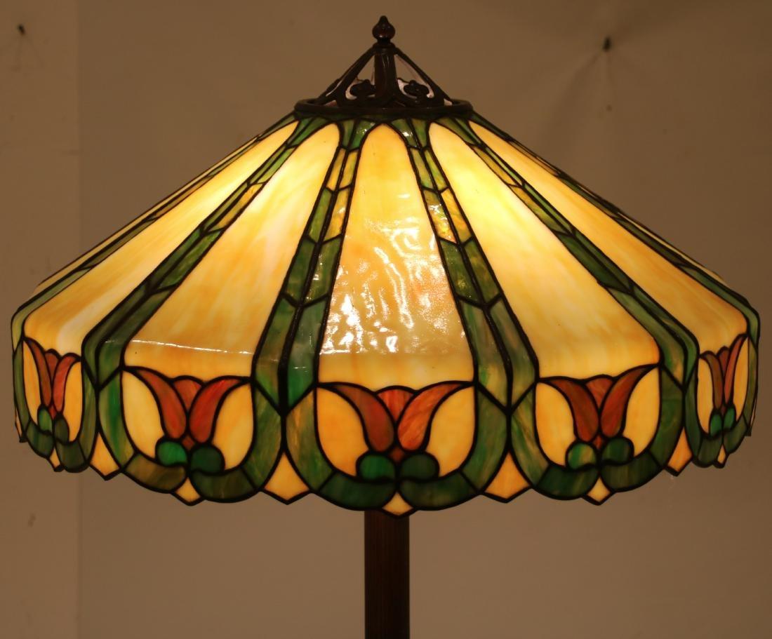 23 in. Handel Leaded Tulip Floor Lamp - 2