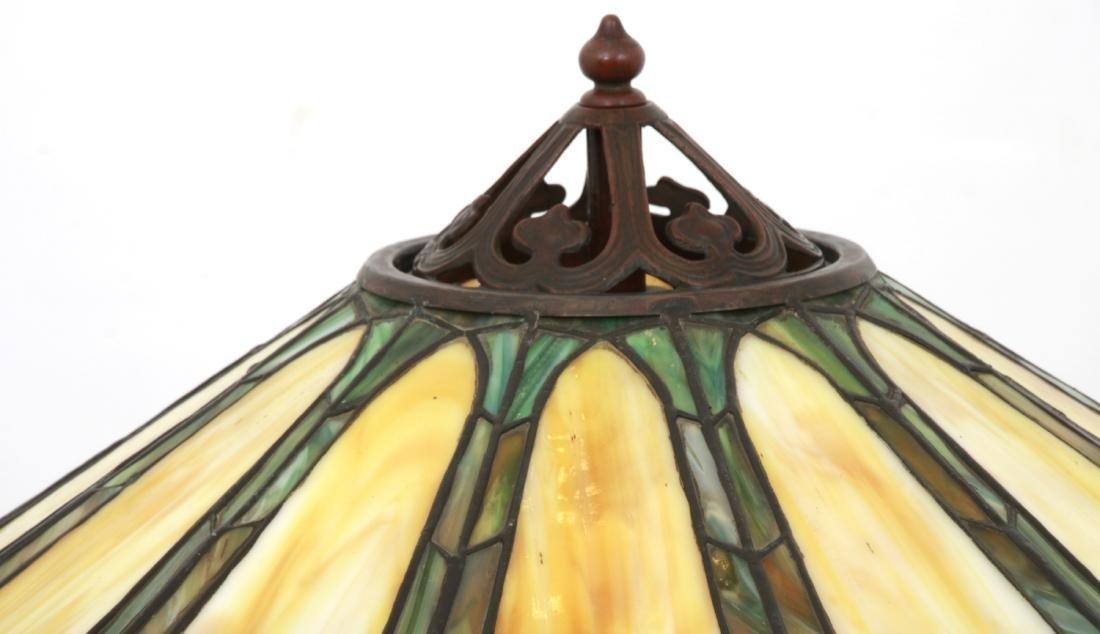 23 in. Handel Leaded Tulip Floor Lamp - 5