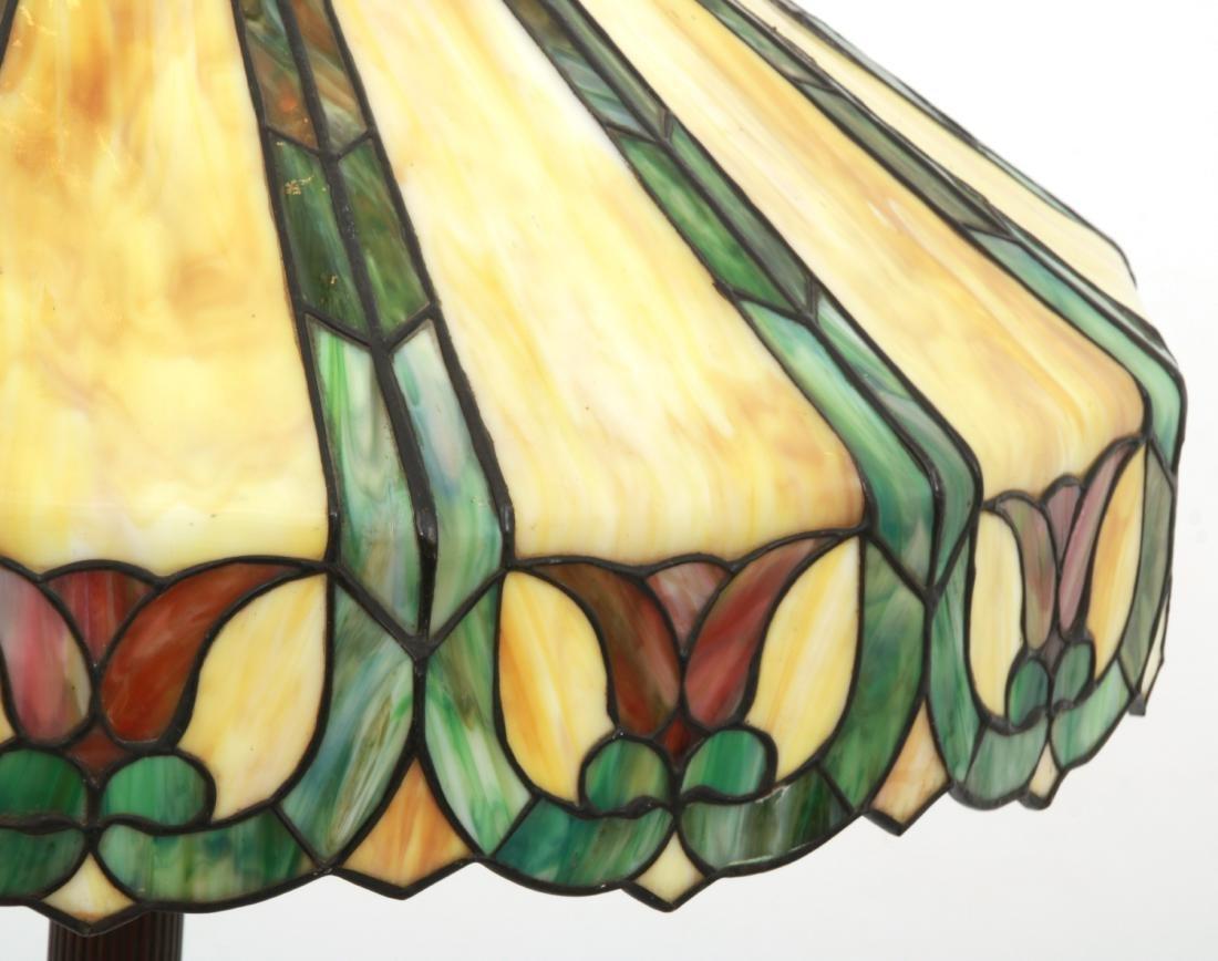 23 in. Handel Leaded Tulip Floor Lamp - 6