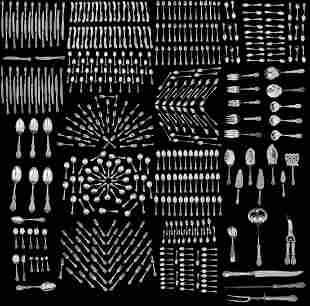 460 Pc. Reed & Barton Sterling Silver Flatware Set