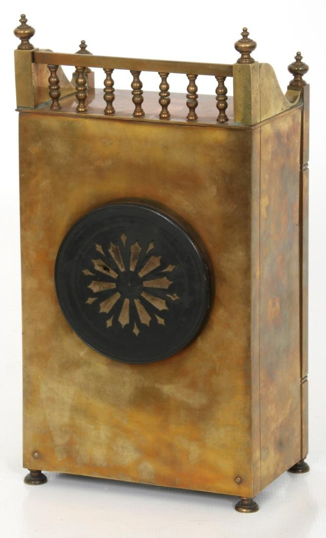 Aesthetic Tile Front Mantle Clock - 8