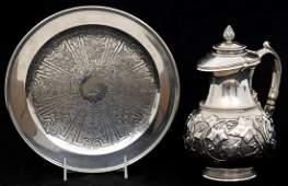 2 Pcs JC Moore Tiffany  Co Sterling Silver