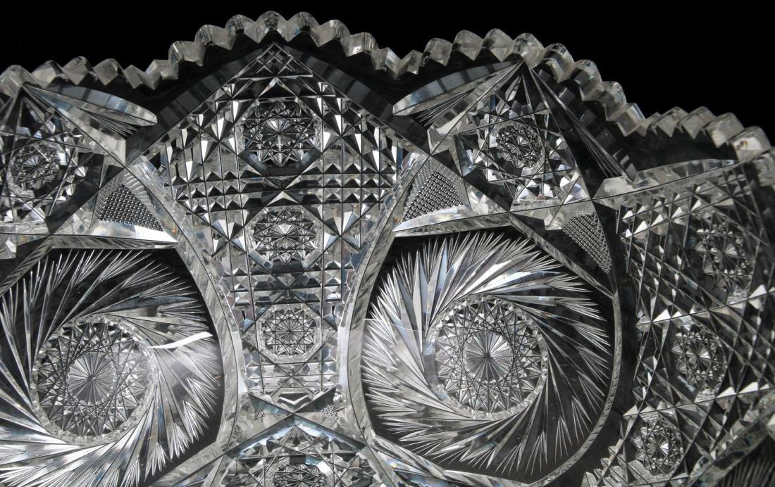 20 Pcs. Brilliant Cut Glass Punch Bowl Set - 5