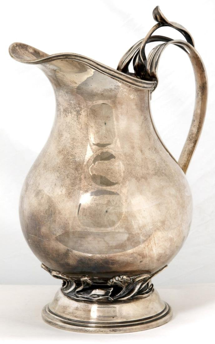 Quaker Silver Co. Sterling Pitcher - 2