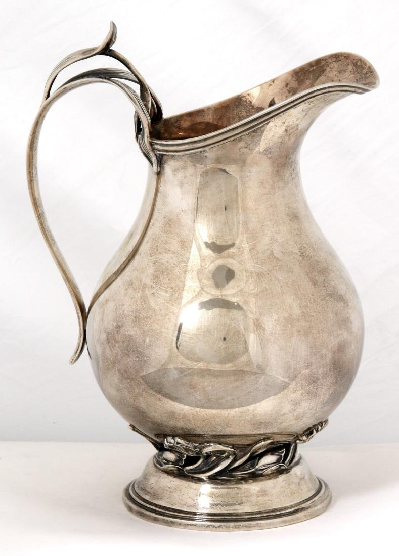 Quaker Silver Co. Sterling Pitcher - 4
