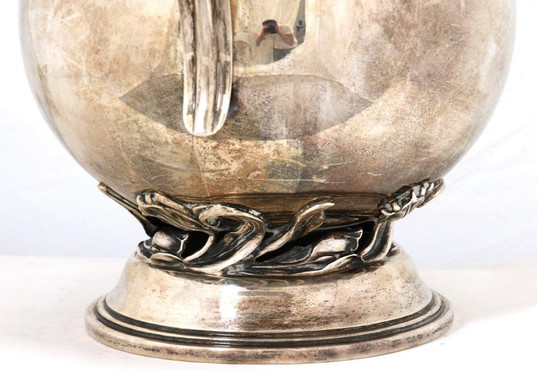 Quaker Silver Co. Sterling Pitcher - 7