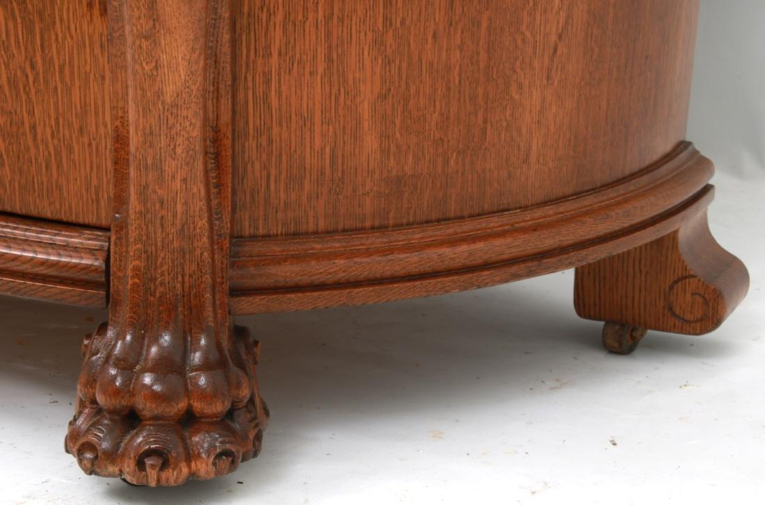 American Carved Quartersawn Oak Sideboard - 10