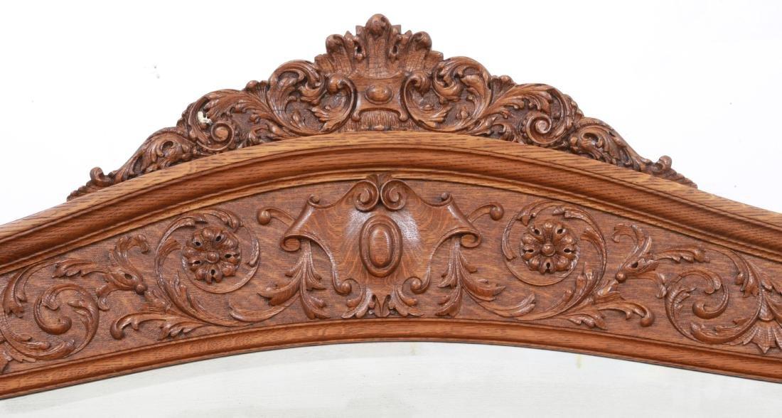 American Carved Quartersawn Oak Sideboard - 3