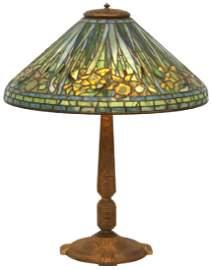 20 in. Tiffany Studios Daffodil Table Lamp