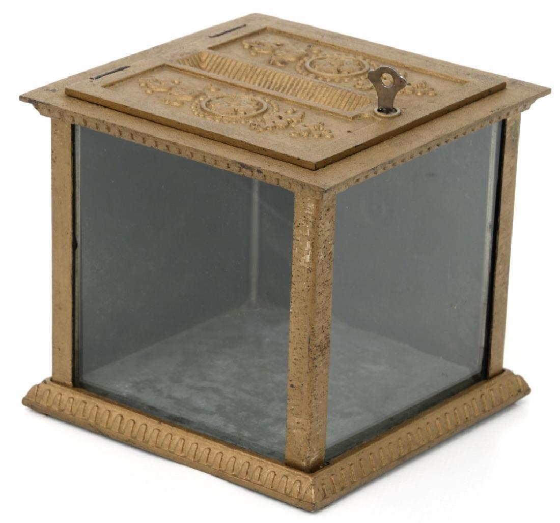 National Cash Register, Oak Stand & Receipt Box - 10