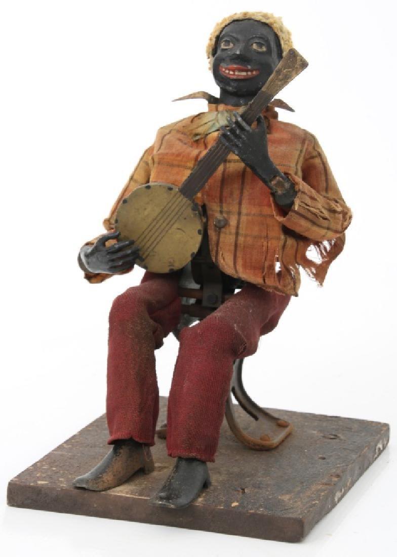 Jerome Secor Clockwork Banjo Player Automaton - 10