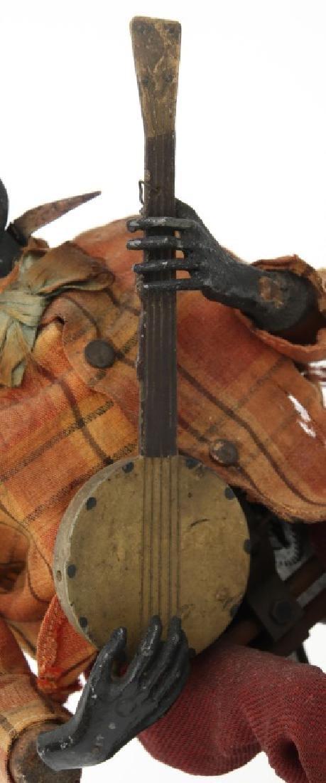 Jerome Secor Clockwork Banjo Player Automaton - 3