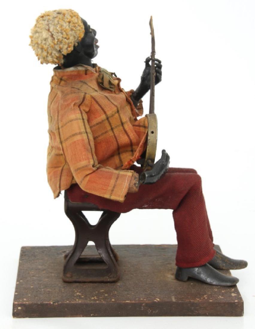 Jerome Secor Clockwork Banjo Player Automaton - 5