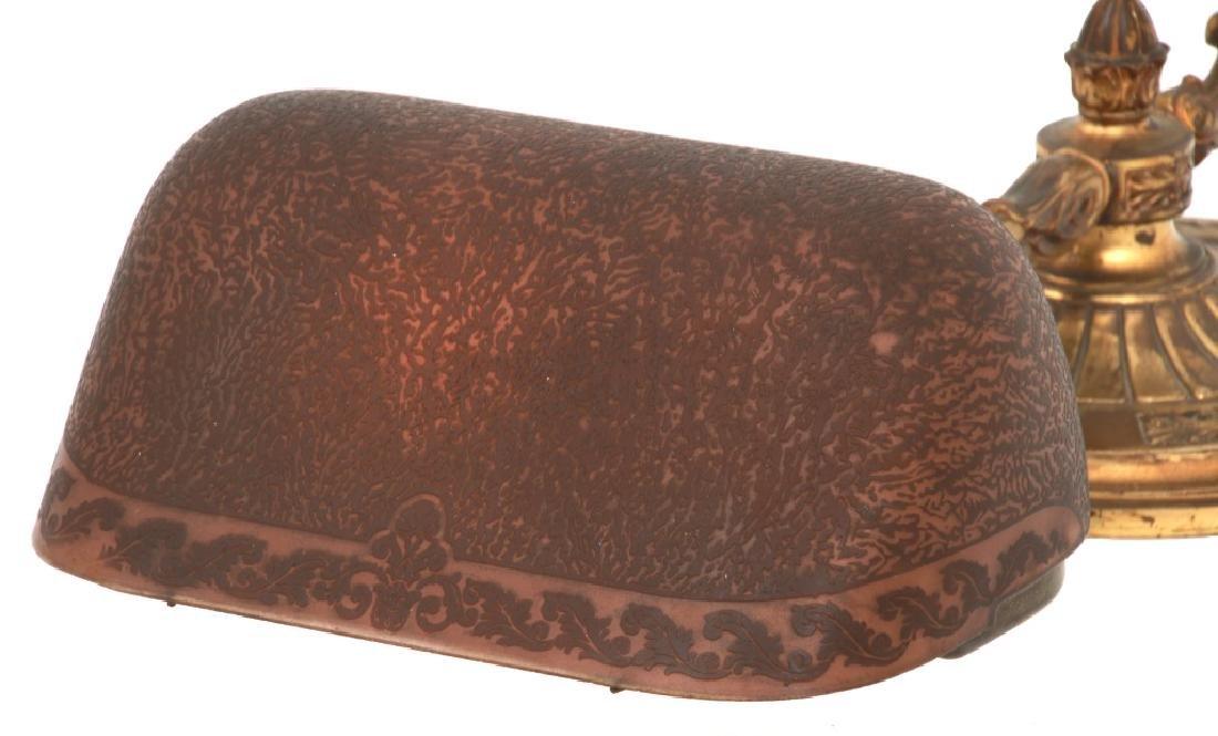 Emeralite Piano Lamp With Bellova Shade - 5