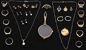 24 Pcs 14K Estate Jewelry