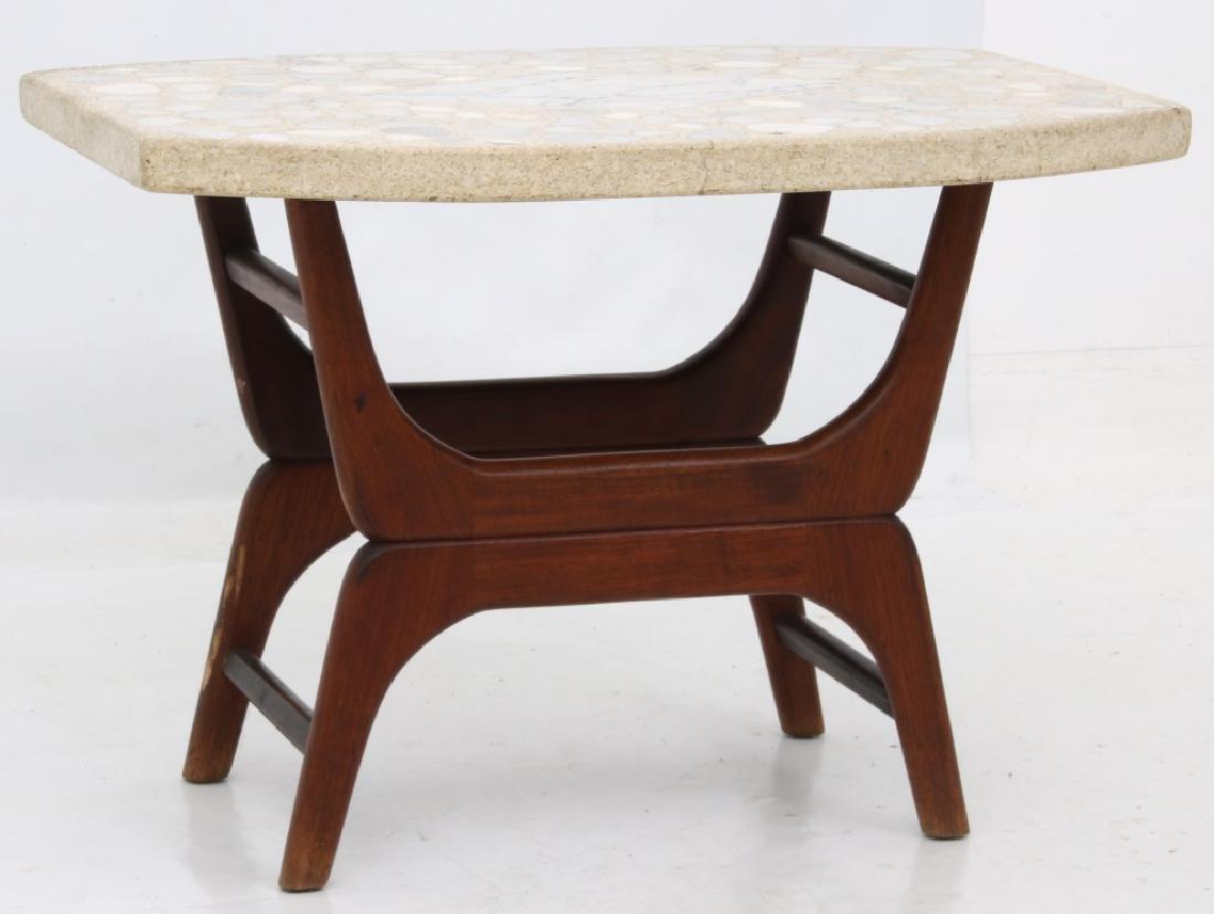 Danish Modern Style Side Table - 2
